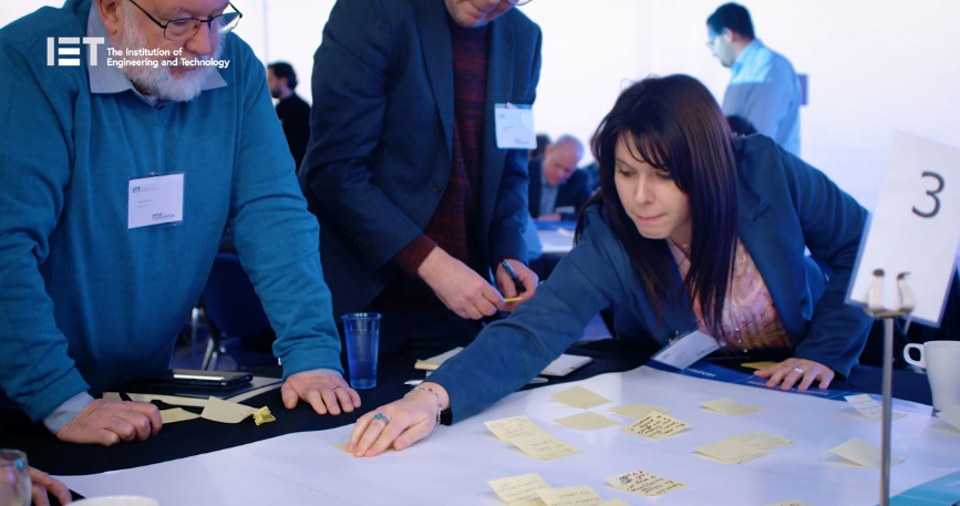 The roadmapping session gave attendees the chance to input into the High Value Manufacturing Catapult's R&D strategy in the visualisation space.