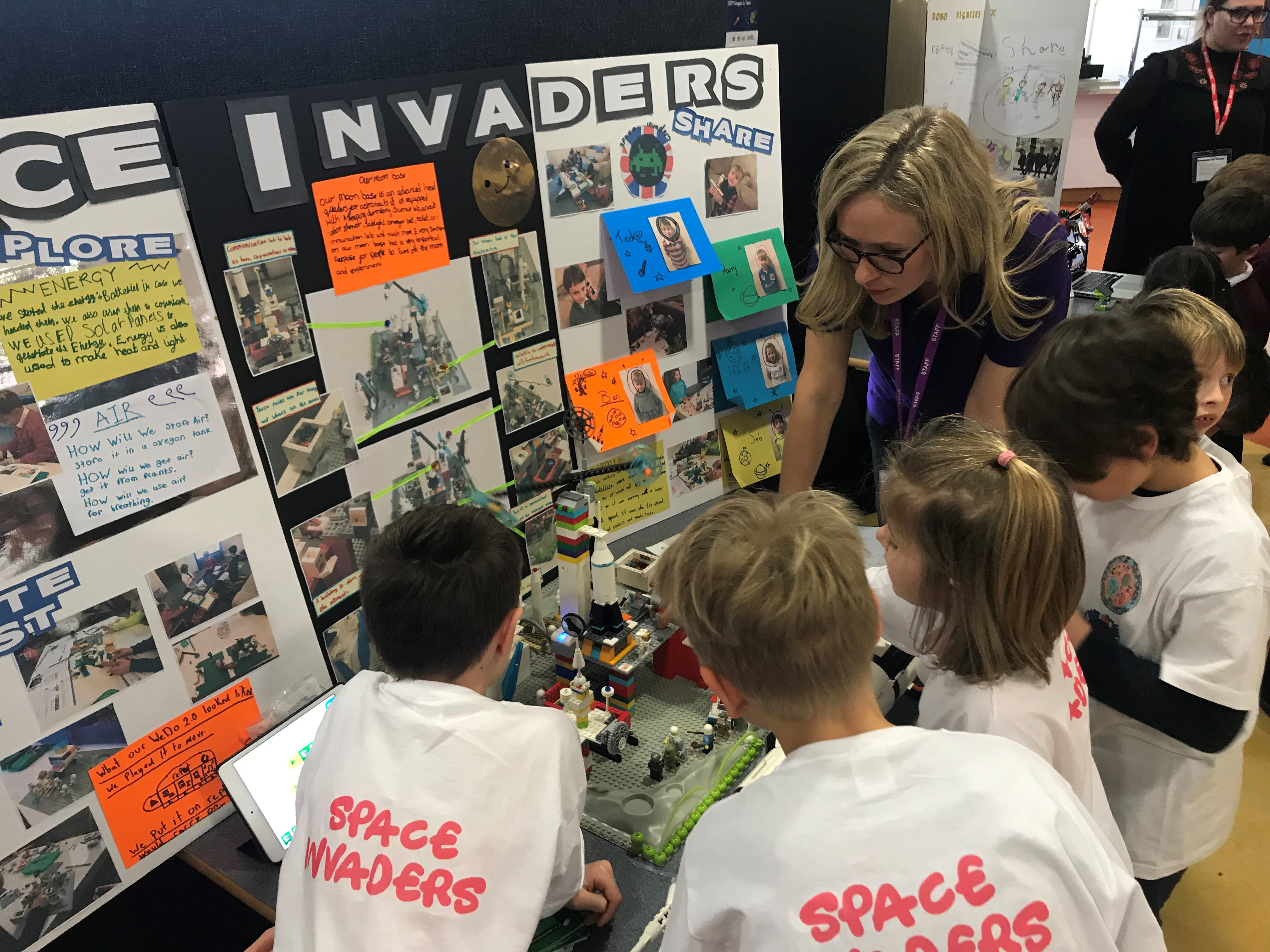 Budding young engineers take part in FIRST® LEGO® League Jr