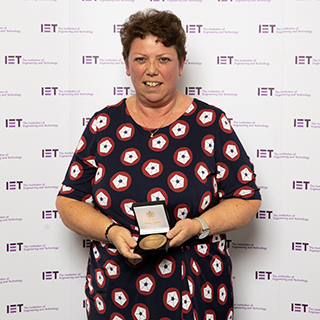 Terri Smith - 2019 Achievement Medal for Financial Technology